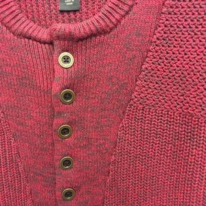 Red Head Deep Red Sweater Size M